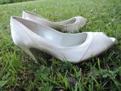 svatební boty s otevřenou špičkou, 36