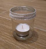 Malé svícny na čajovou svíčku,