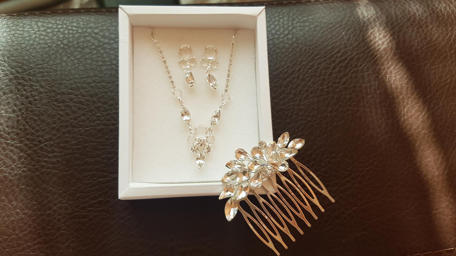 Sada svadobných šperkov - Obrázok č. 1