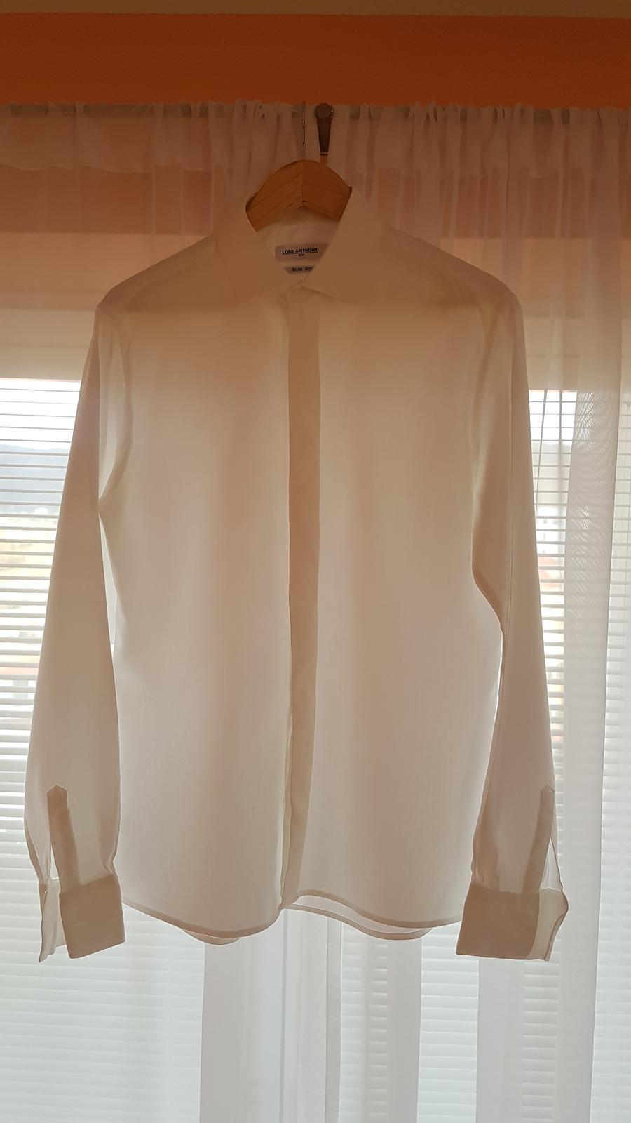 Košeľa Lord Anthony - odtieň diamont white - Obrázok č. 1