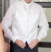 svadobná košeľa ivory, veľkosť 41, 42