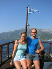 aby bylo vidět, že jsme v Řecku