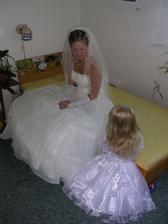 poslední úpravy a čekání na ženicha