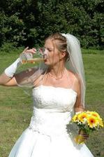 po focení jsme měla ukrutnou žízeň:-)