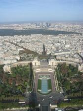 pohled z Eiffelovky