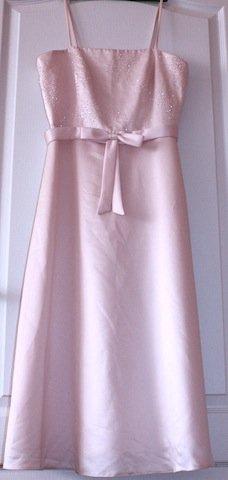 Bledoružové šaty vel. 36 - Obrázok č. 1