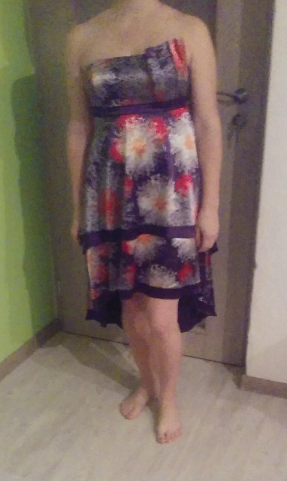 Spoločenské krátke šaty zn. Ever pretty v. 38-M  - Obrázok č. 2