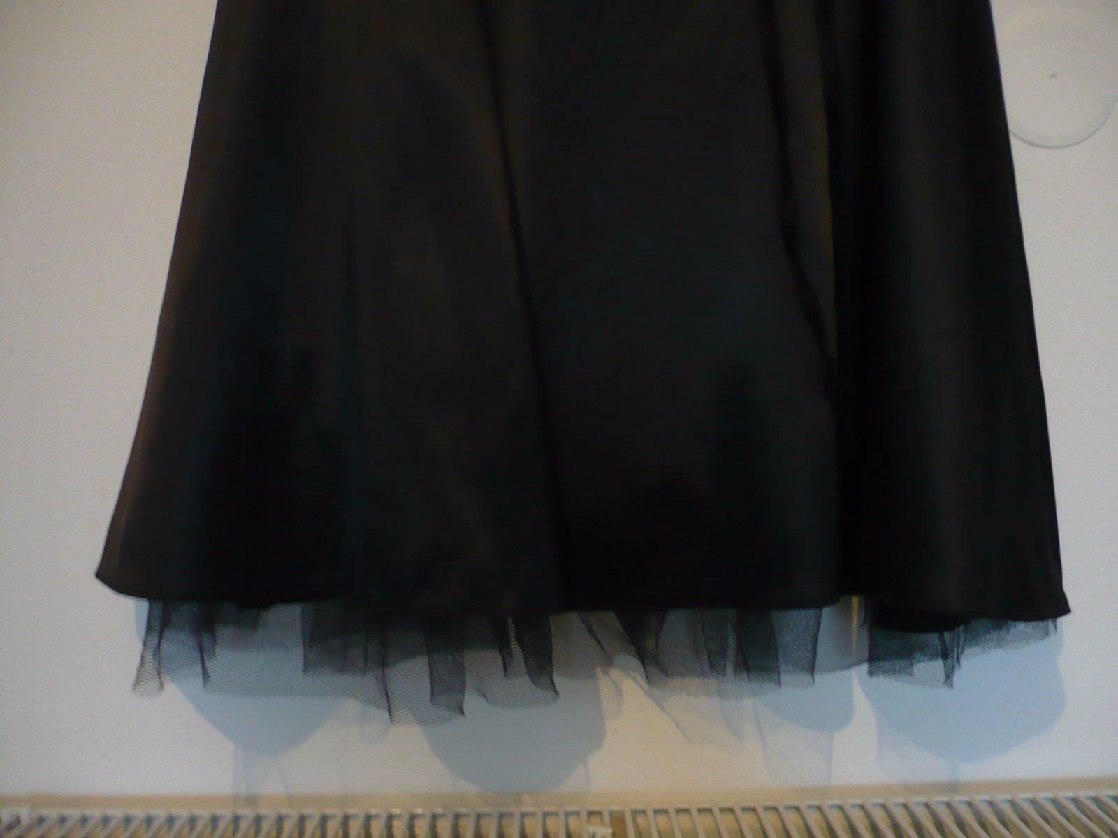 Elegantné saténové šaty vel. 36/38  - Obrázok č. 3