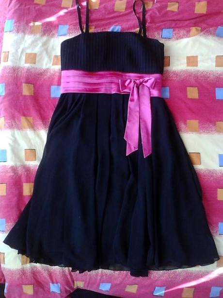 Spoločenské šaty čierne vel. M zn. Carina - Obrázok č. 3