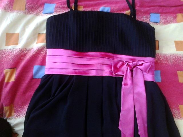 Spoločenské šaty čierne vel. M zn. Carina - Obrázok č. 4