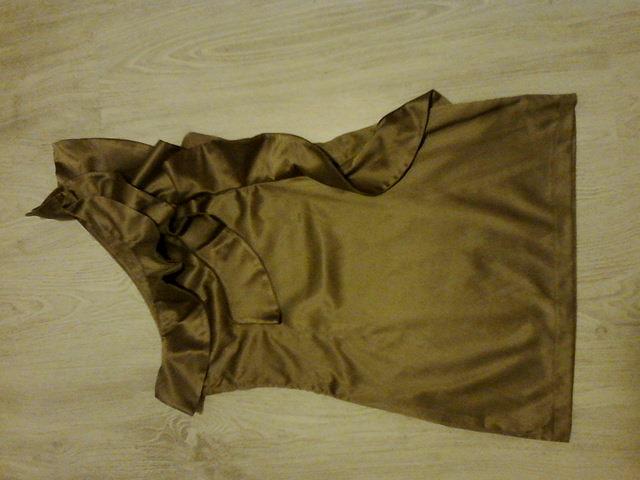 Hnedé šaty veľ. M/L - Obrázok č. 2