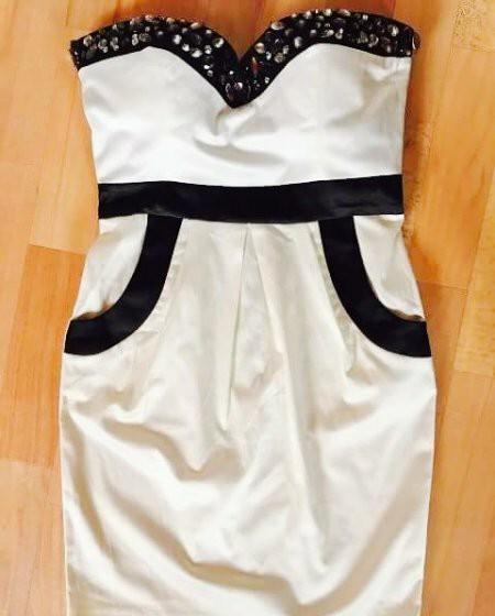 Maslové spoločenské šaty vel. M - Obrázok č. 3