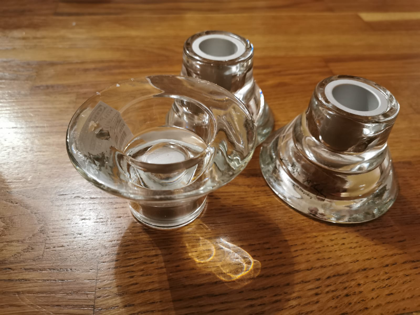 Svícny na čajové nebo vysoké svíčky - Obrázek č. 1