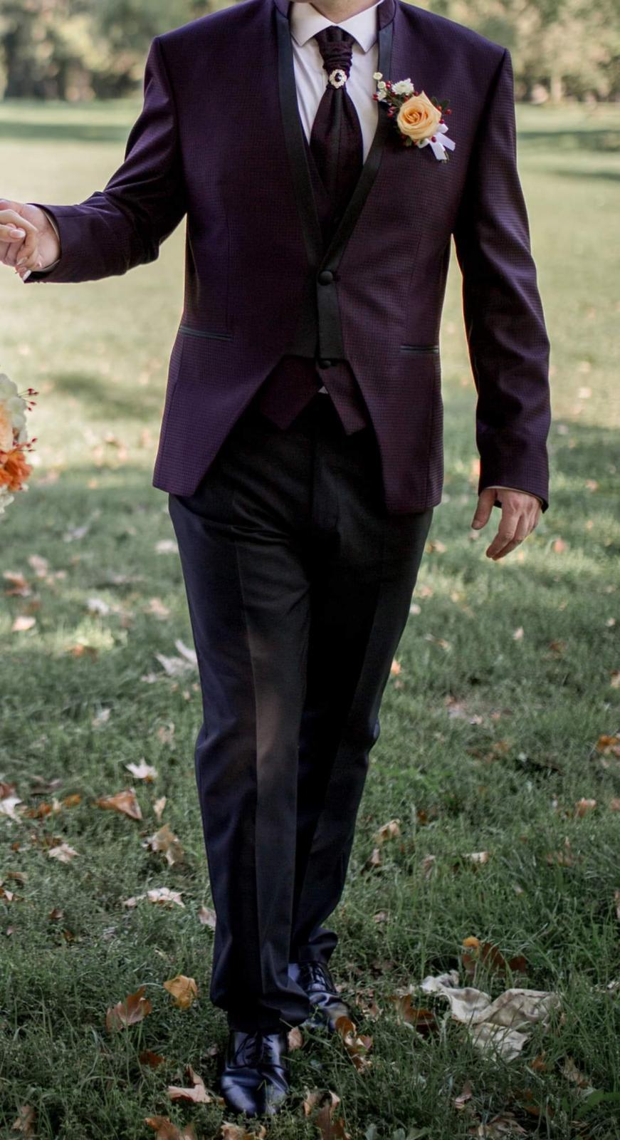 svadobný spoločenský oblek - Obrázok č. 2