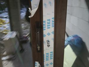 aj terasové dvere sme si dali na kľúčik