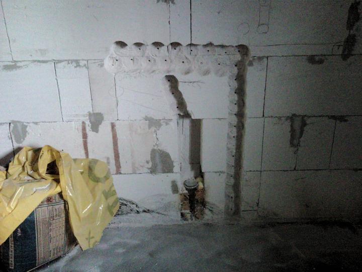 Vnútorné práce - rozvody vody a kúrenie, podlaha - budúce rozvody vody