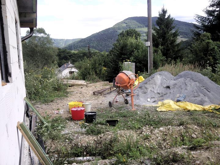 Vnútorné práce - rozvody vody a kúrenie, podlaha - príprava betonáže:)