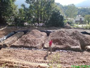 konečne vykopané základy