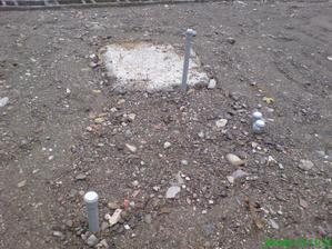 základy pod komín v kotolni