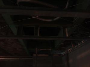 tu budú schodíky do podkrovia