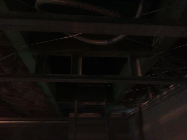 Stropy - tu budú schodíky do podkrovia