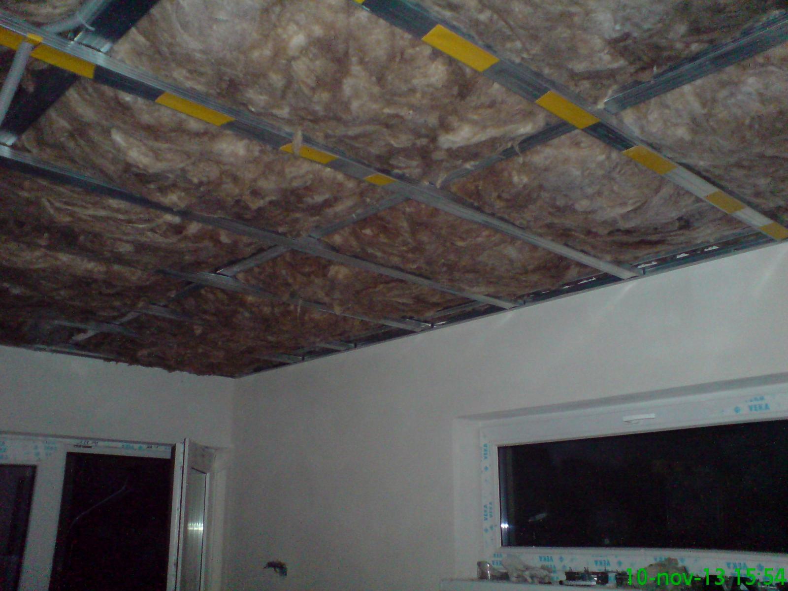 Stropy - obývačka