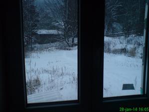 Pohľad z okna menšej izby