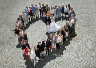 srdce ze svatebčanů, super