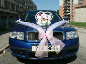 moje auto zepředu