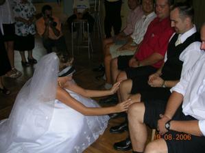 poznávání ženicha podle kolen - našla jsem ho