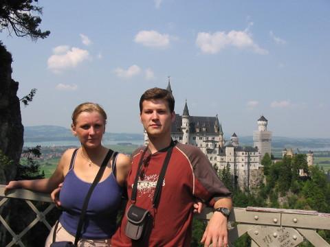 Janka a Janko - Neuschwanstein
