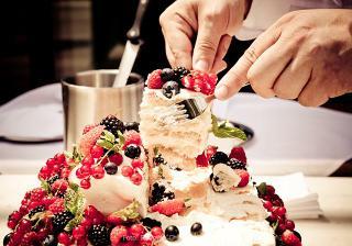 nádherný a výborný svatební dort