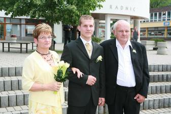 Zenich s rodici..