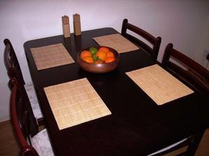 Vsednodenni prostreni naseho stolu