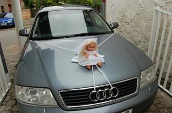 Auto nevěsty :-*
