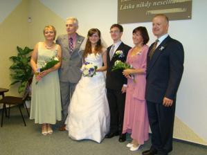S rodiči nevěsty a ženicha :-*