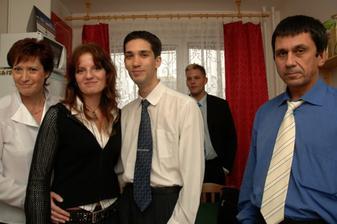 Naši, Peťan s Mončou a bratránek :o)
