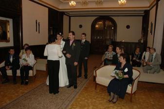 Mně to přišlo jako docela velká svatba, ale bylo nás 21, což je prý malá :o)