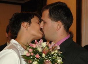Novomanželský polibek :o)