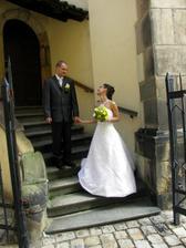 Po starých zámeckých schodech :-)