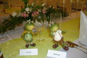 Kedze milujem zabky tak nas cakalo prekvapko na stole:))))