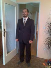 Můj brácha Jirka - svědek a navíc i zástupce tatínka v jedné osobě