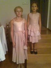 Drůžičky - sestřenice Jája a Marcelka
