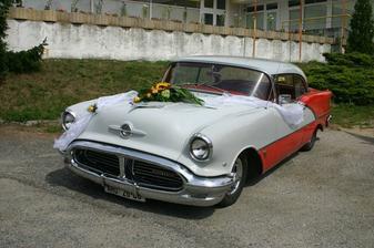 Svatební autíčko - veterán - pro nevěstu