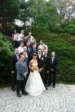Společné foto s kamarády