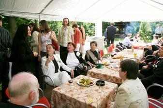 večerní party