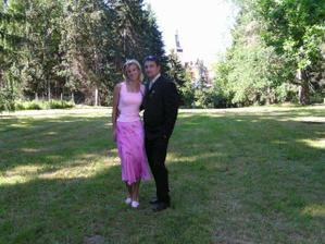 my dva na sestřině svatbě
