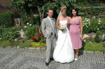 svědkyně Verča s manželem Petrem