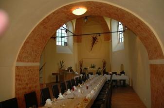 kaple zámečku v Dobřejovicích