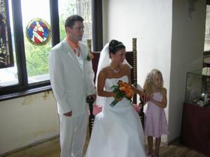 manželova druhá nevěsta Verunka. :-))